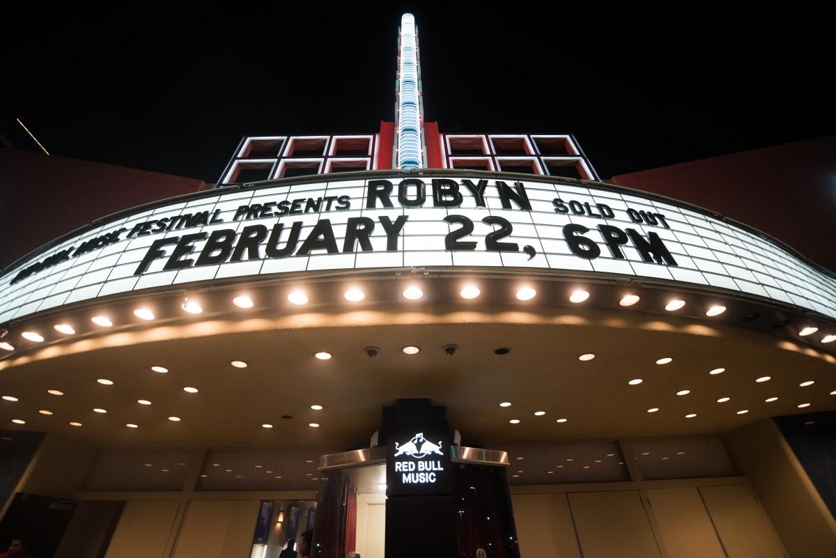 Robyn Red Bull Music Festival Hollywood Palladium