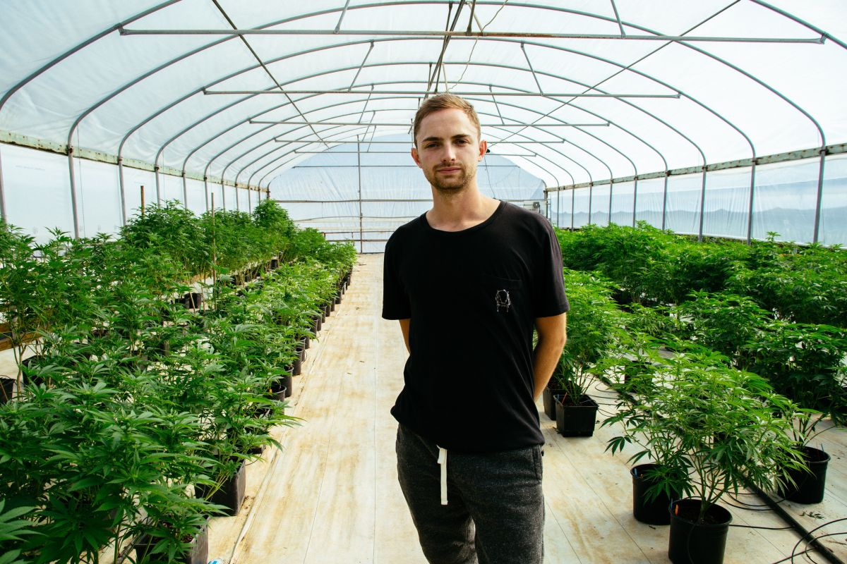Spencer Peterson - Founder of Zoma Cannabis