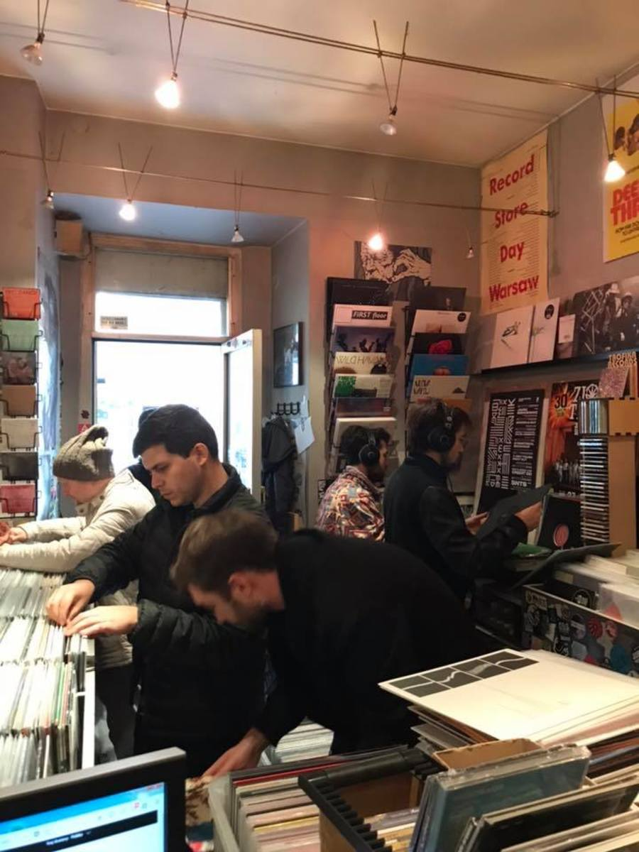 Side One record store