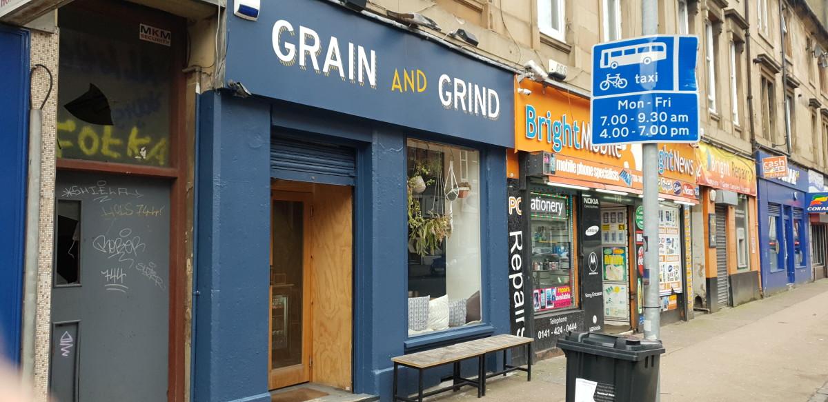 Graind & Grind coffee house