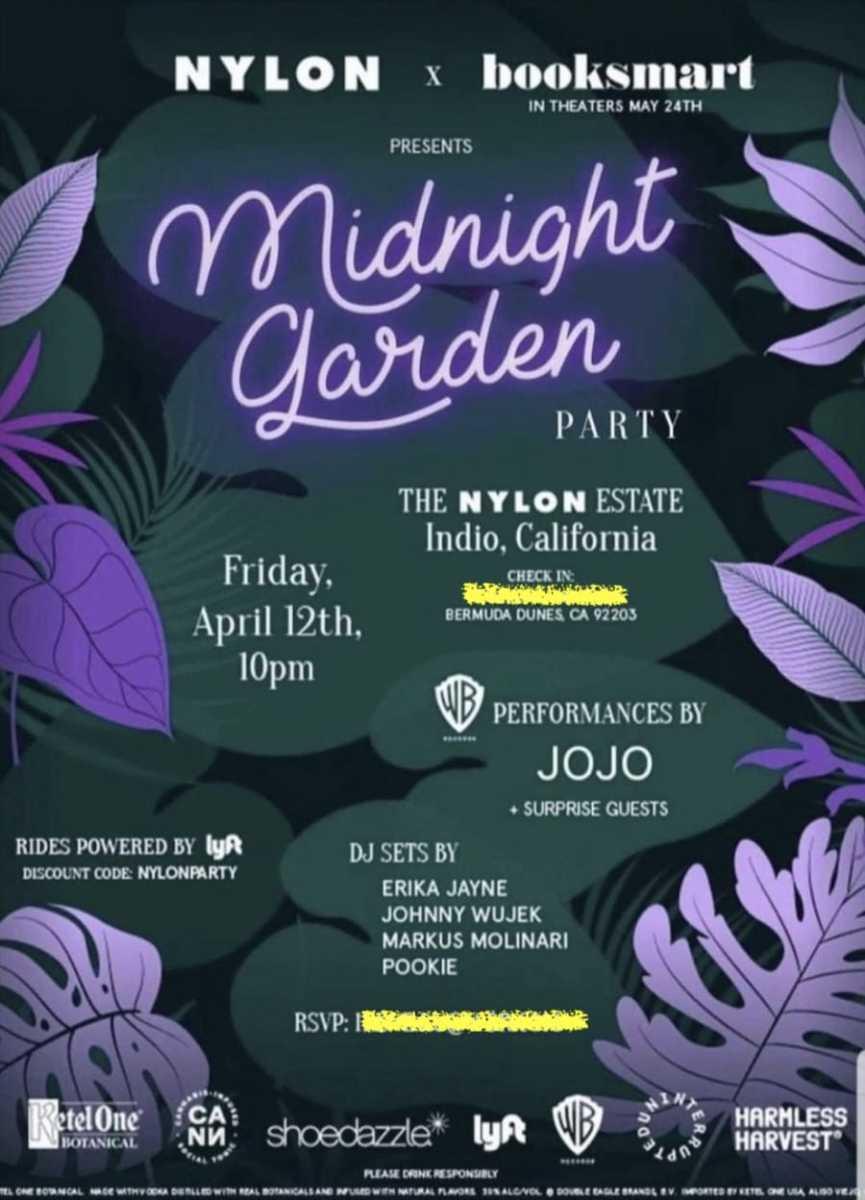 The midnight garden beckons you....