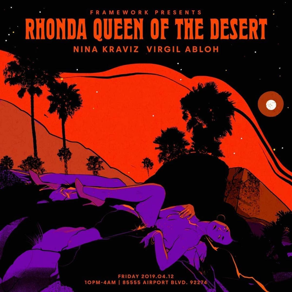 let's get ready to RHOOOOOONDAAAAAAAAAA in the desert!