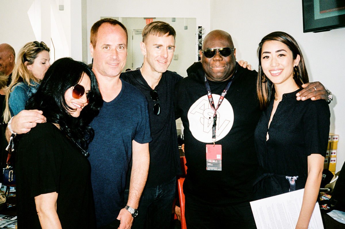 Winter Music Conference Richie Hawtin, Carl Cox, Nicole Moudader, Christian Smith