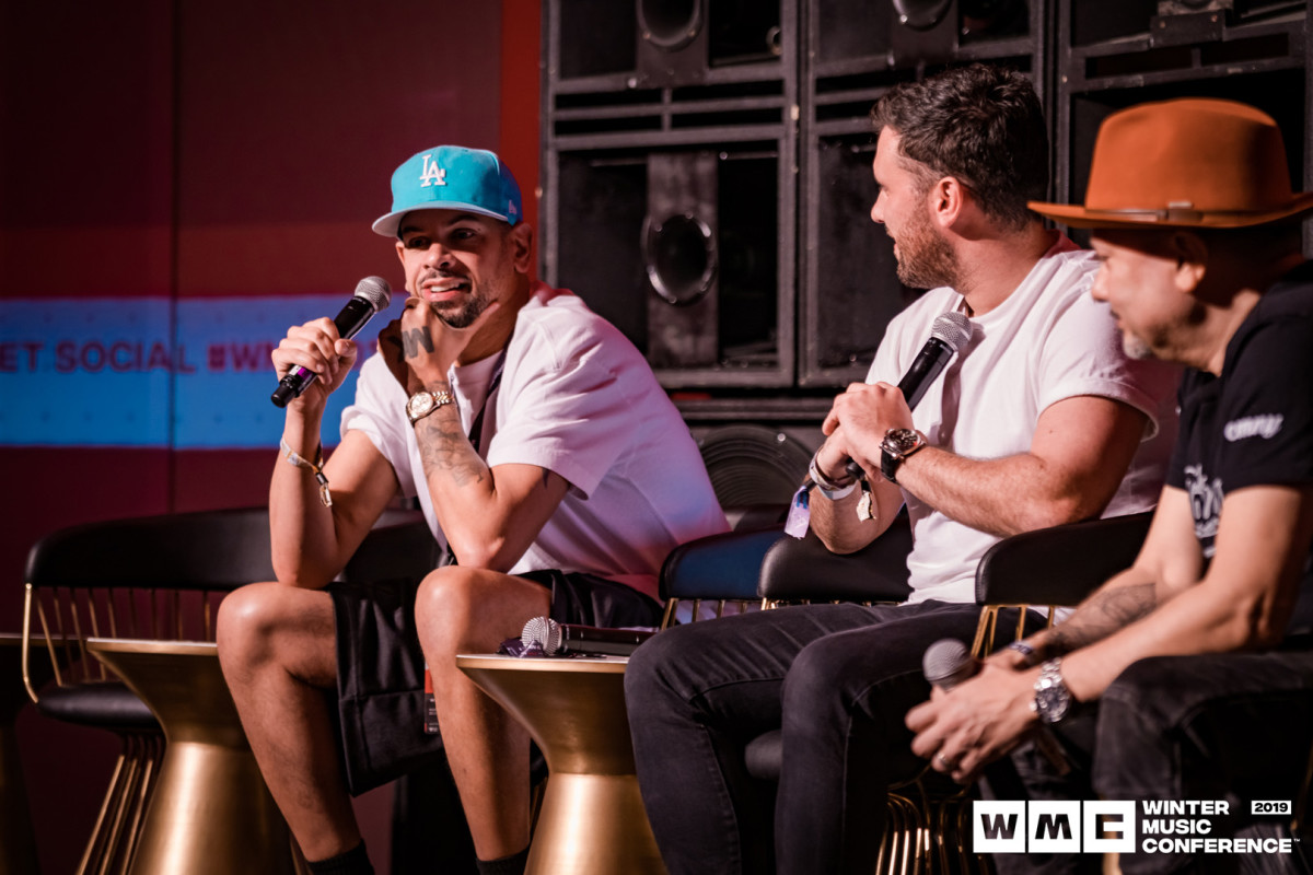 MK, Danny Howard (Moderator) and Louie Vega