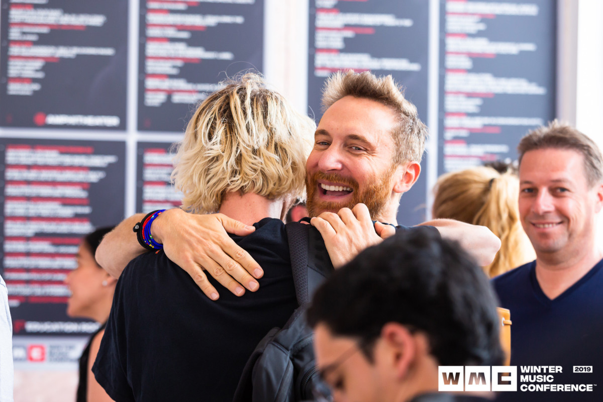 David Guetta aka Jack Back arrives at WMC Registration