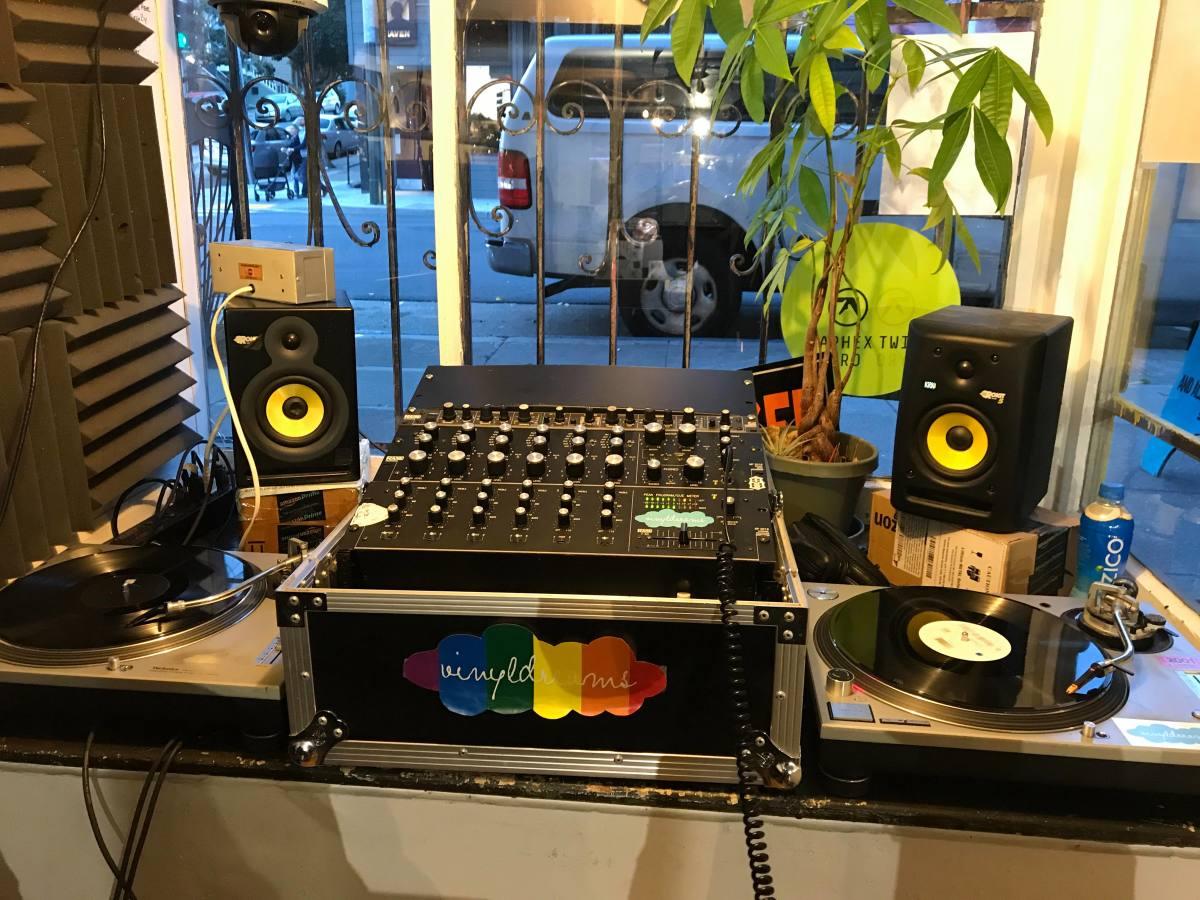 Vinyl Dreams Record Store San Francisco