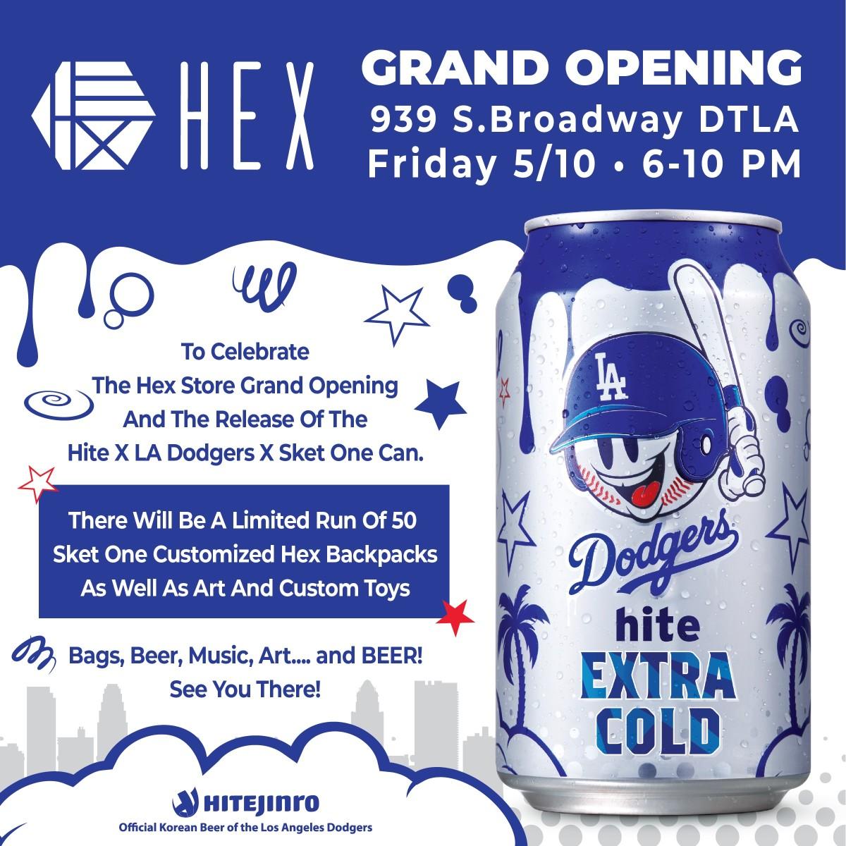 HEX DTLA opening Sket flyer