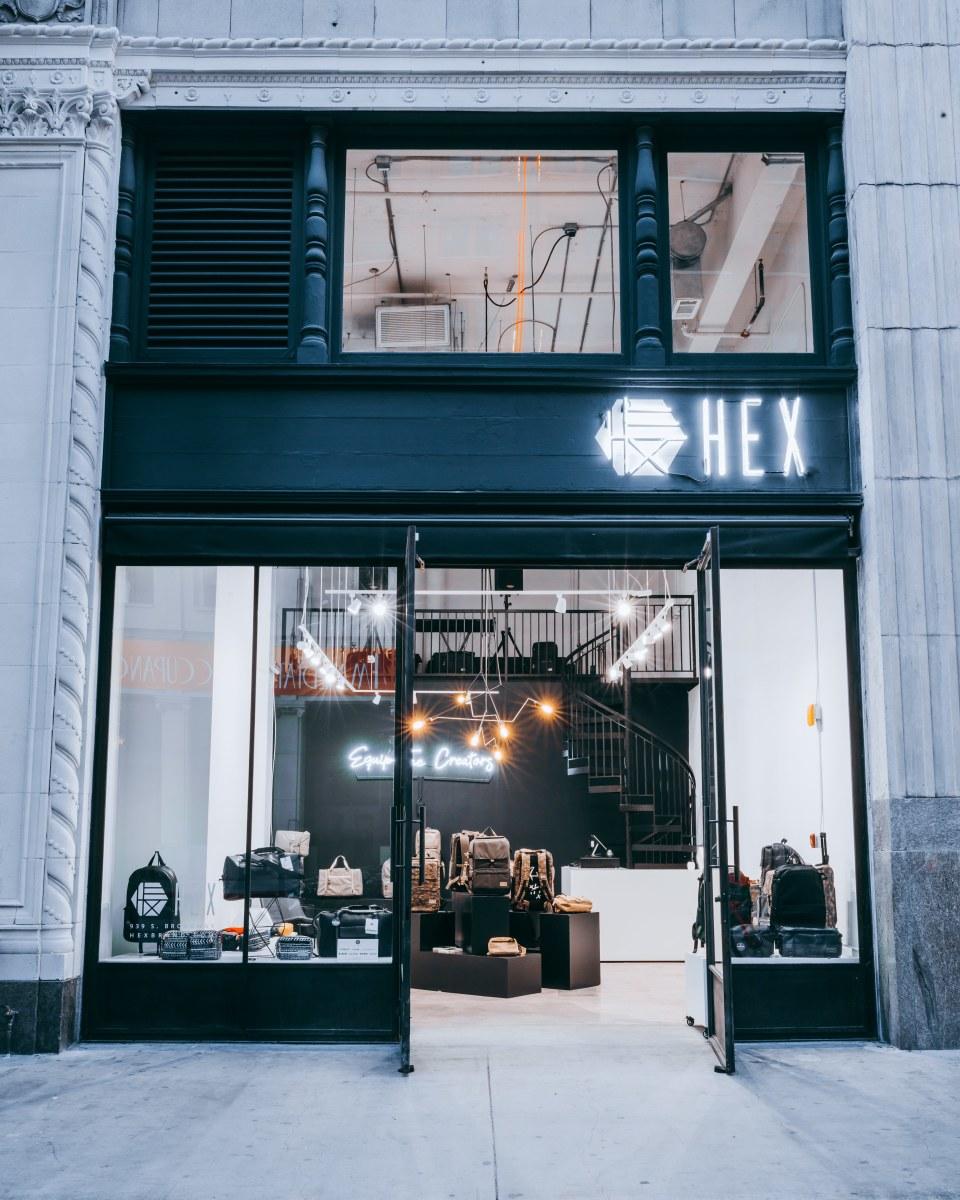 HEX DTLA Storefront