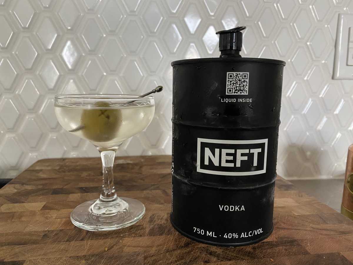 Vodka so good that it's almost like drinking water! Dirty Martini highly recommended.