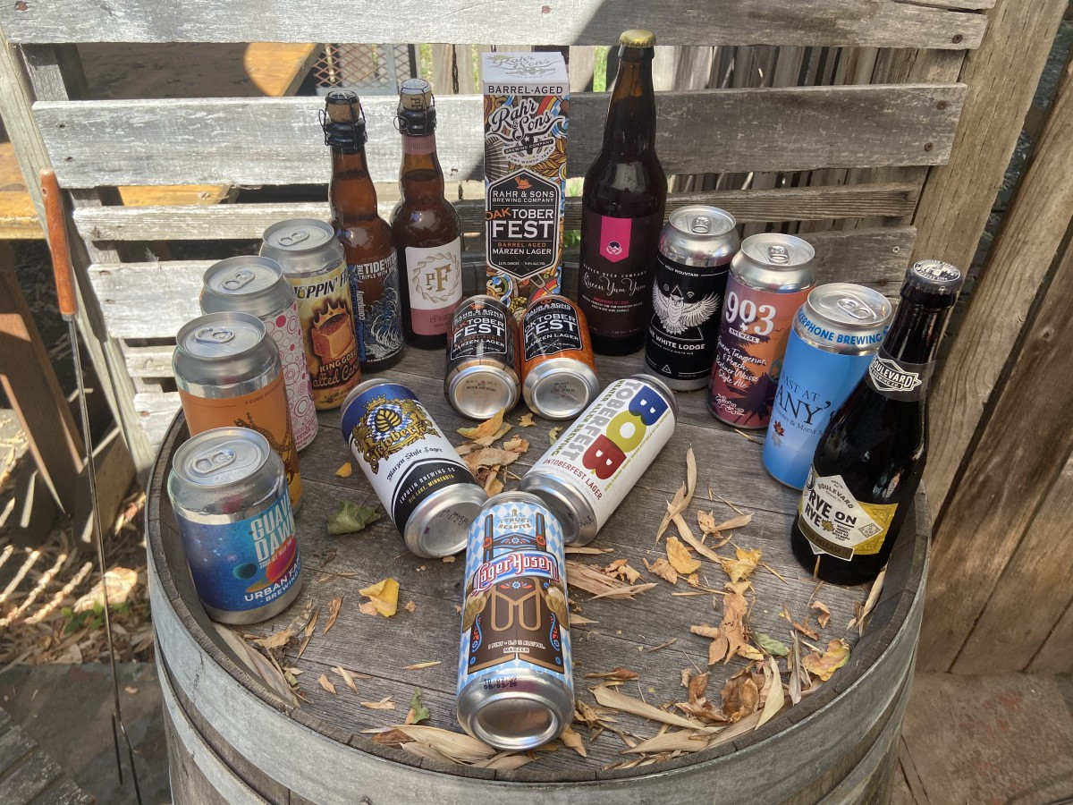 Tavour's selection of fall beer