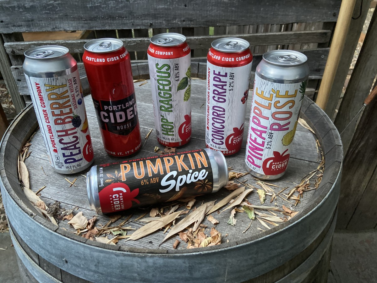 Portland Cider Club's September subscription box