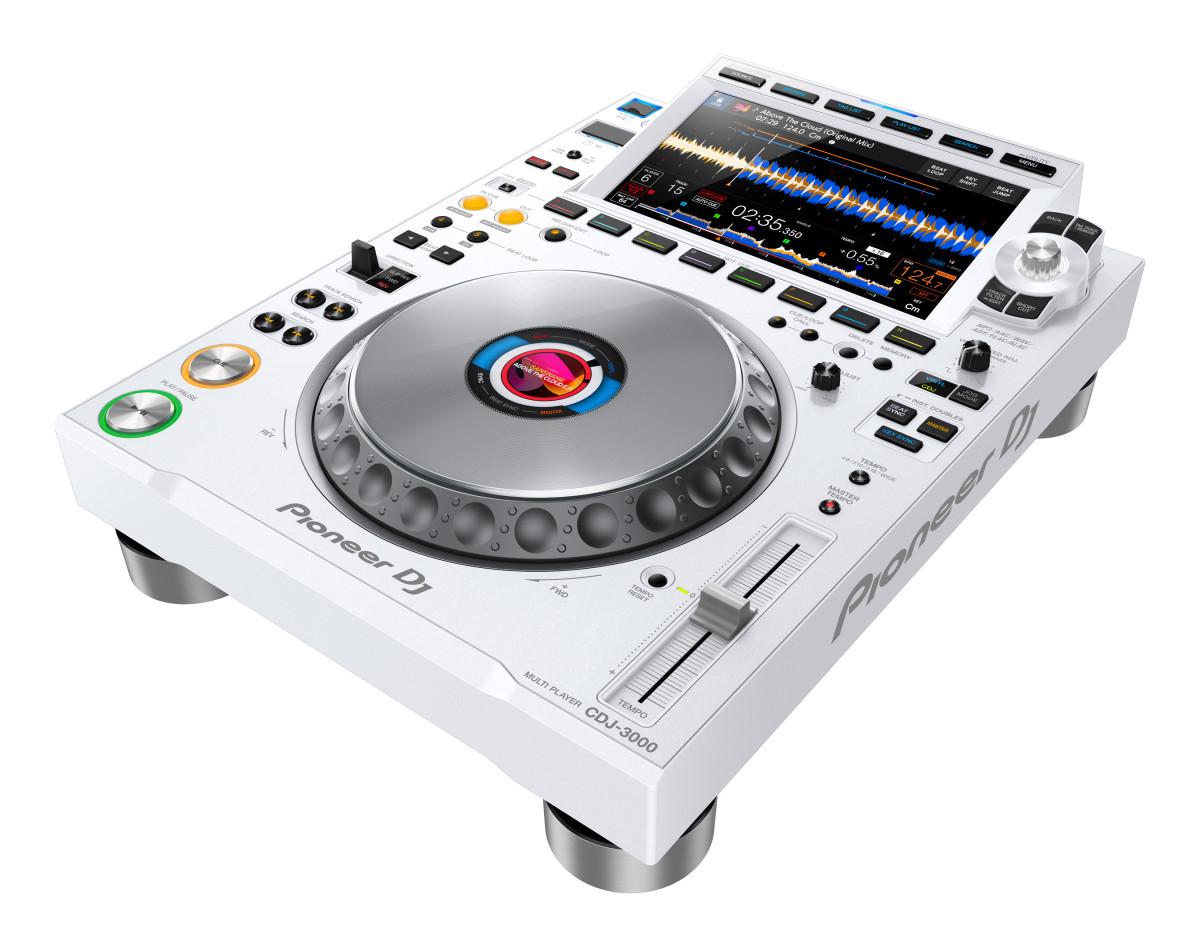 Pioneer DJ CDJ-3000 White