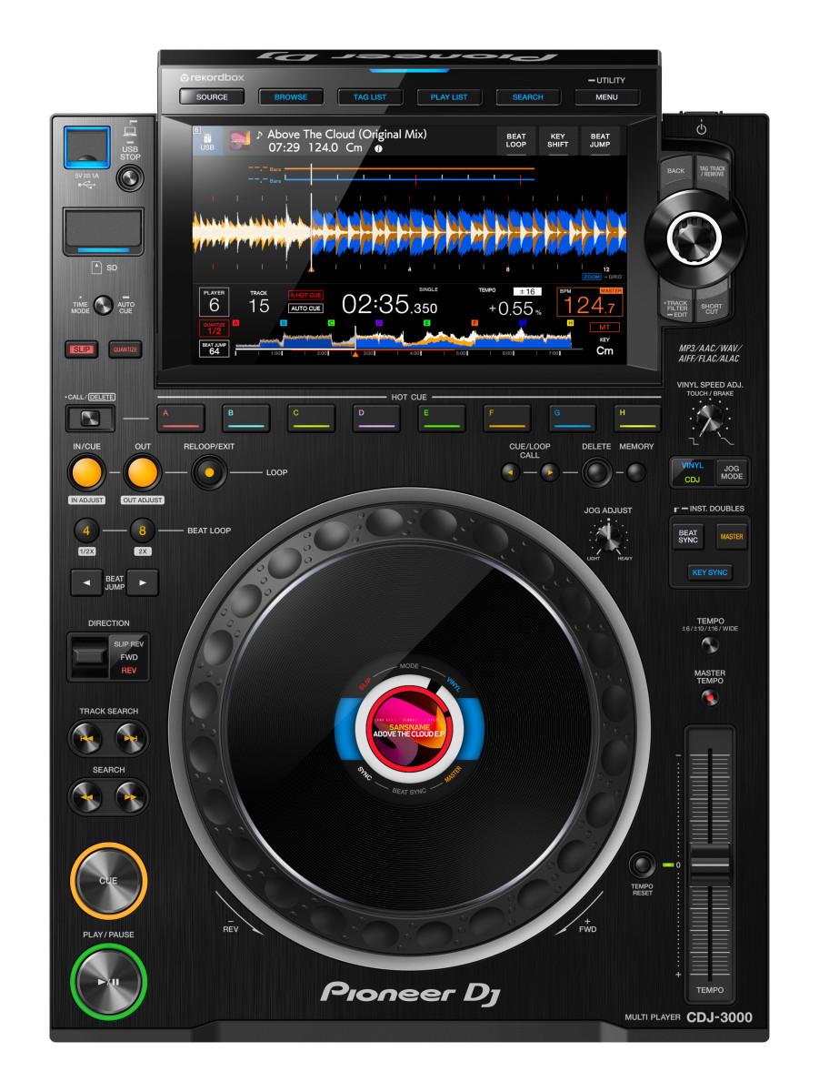 Pioneer DJ CDJ-3000 Black