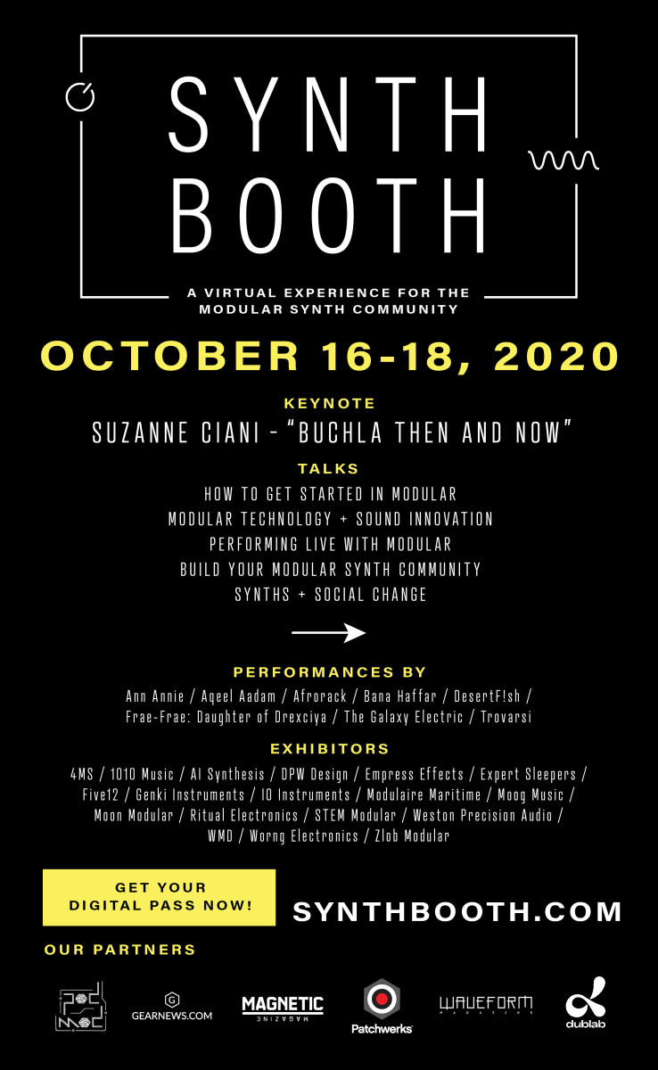 Synthbooth 2020 Flyer
