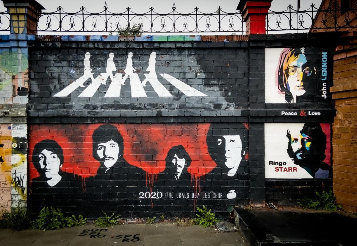 The Beatles Mural