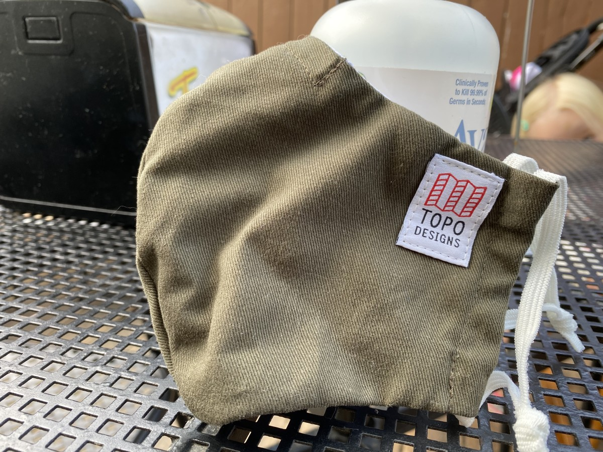 Mask up, you need one of these from Topo, comfy and burly