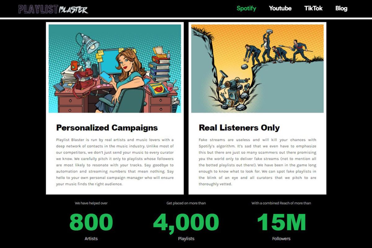 Playlist Blaster Graphic