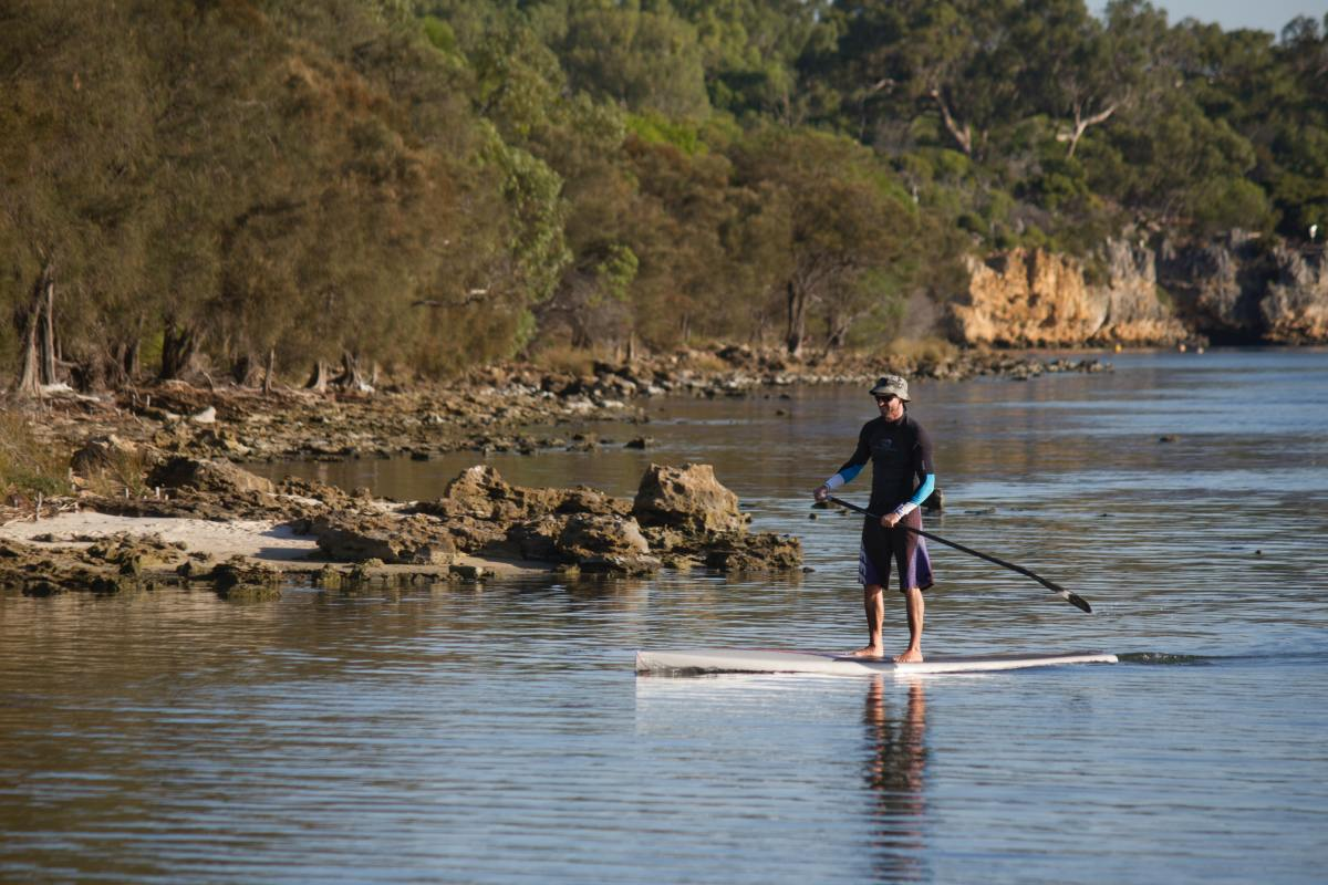 Get your SUP on, the Yampa is perfect for it during June, July and August when the water is high enough. Just wear a helmet!