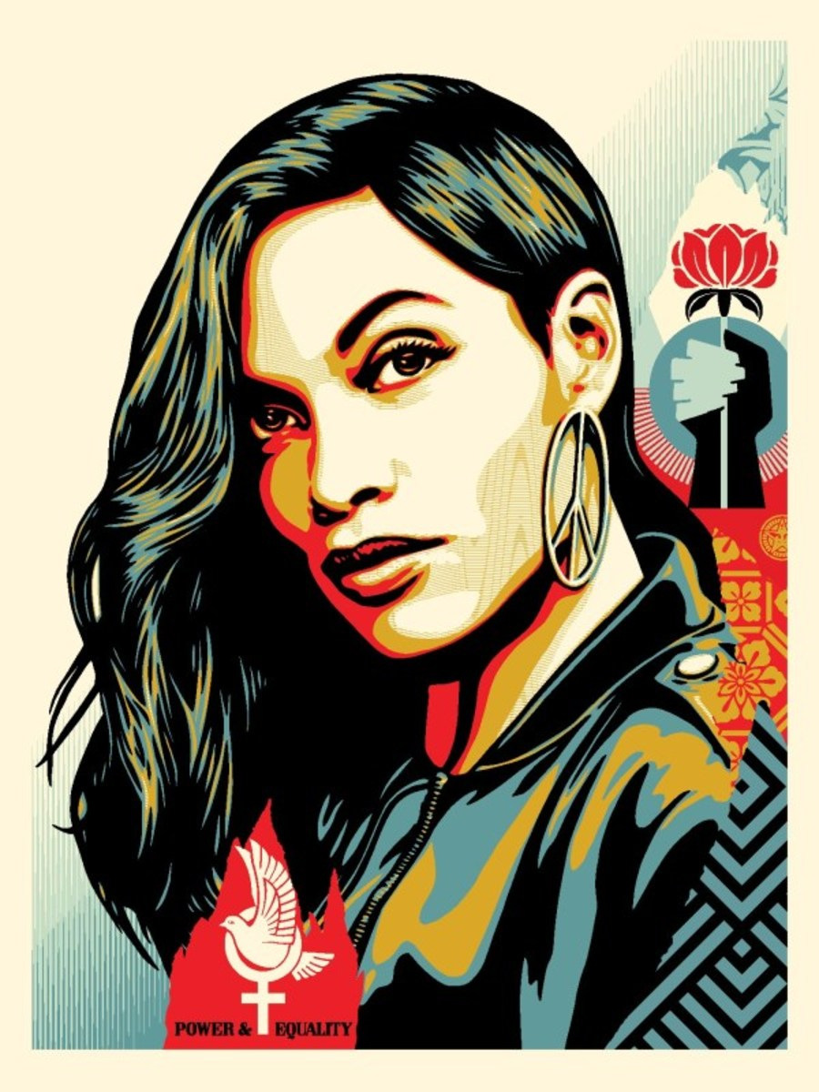 Power & Equality: Dove18 inches by 24 inchesSigned by Shepard FaireyNumbered edition of 400, APYear Issued: 2019Value: $200