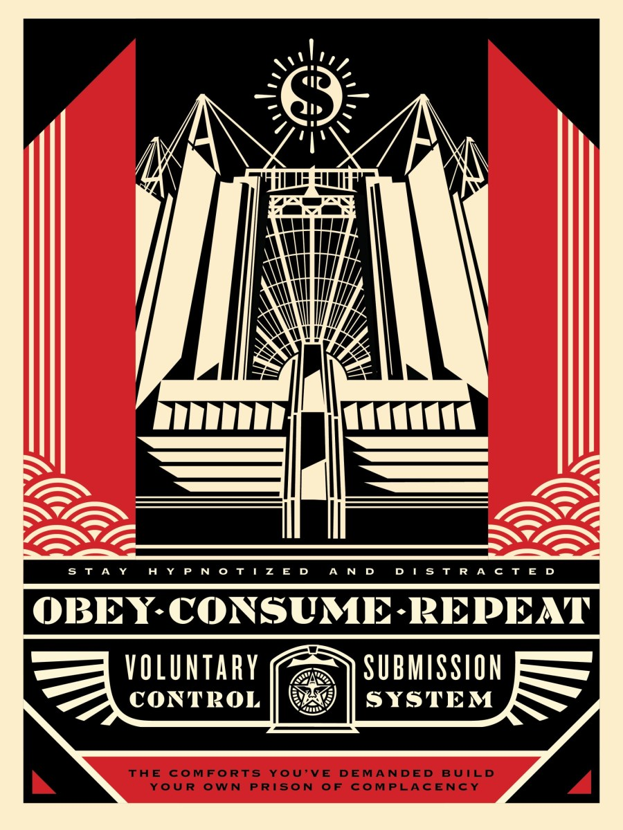 Church of Consumption18 inches by 24 inchesSigned by Shepard FaireyNumbered edition of 450, APYear Issued: 2017Value: $200
