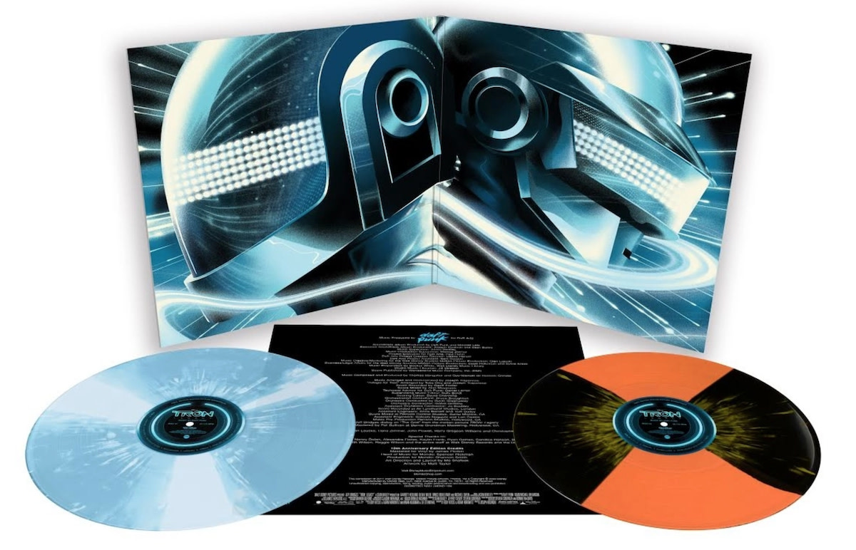 Daft Pink Tron Legacy Soundtrack Vinyl Reissue Mondo Gatefold