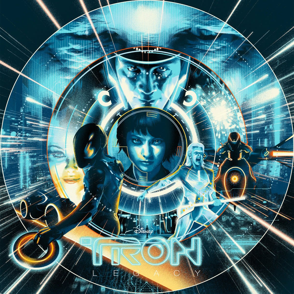 Daft Pink Tron Legacy Soundtrack Vinyl Reissue Mondo