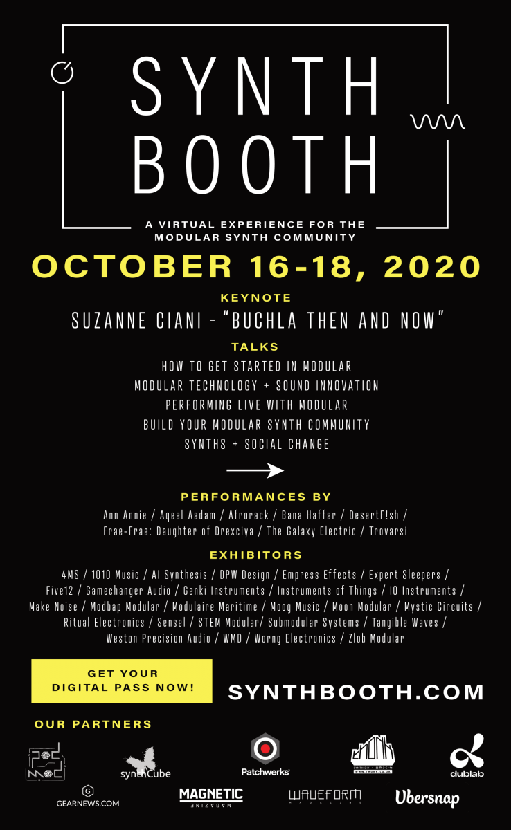 Synthbooth Flyer Updated October 2020