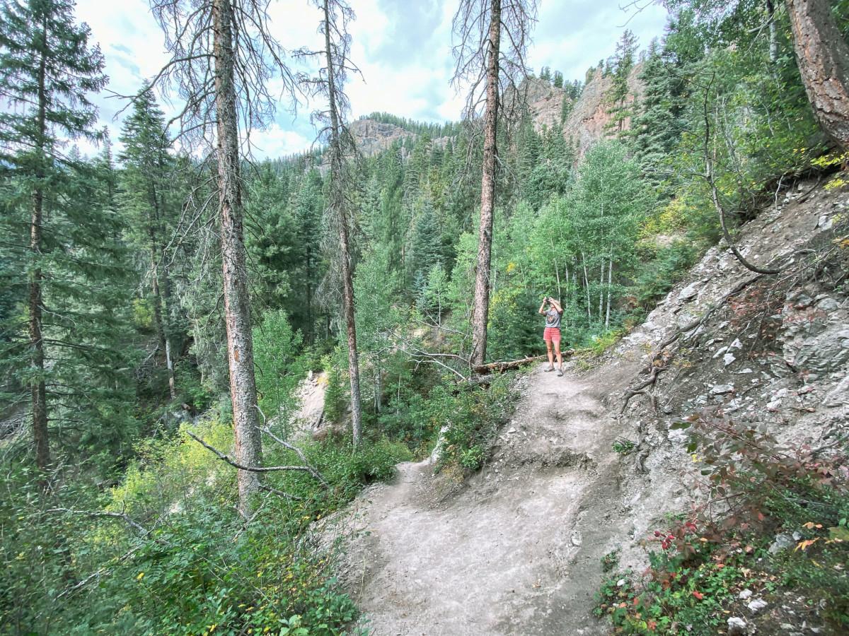 The hike to Treasure Falls