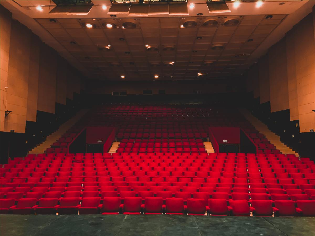 Empty Concert Hall Theater