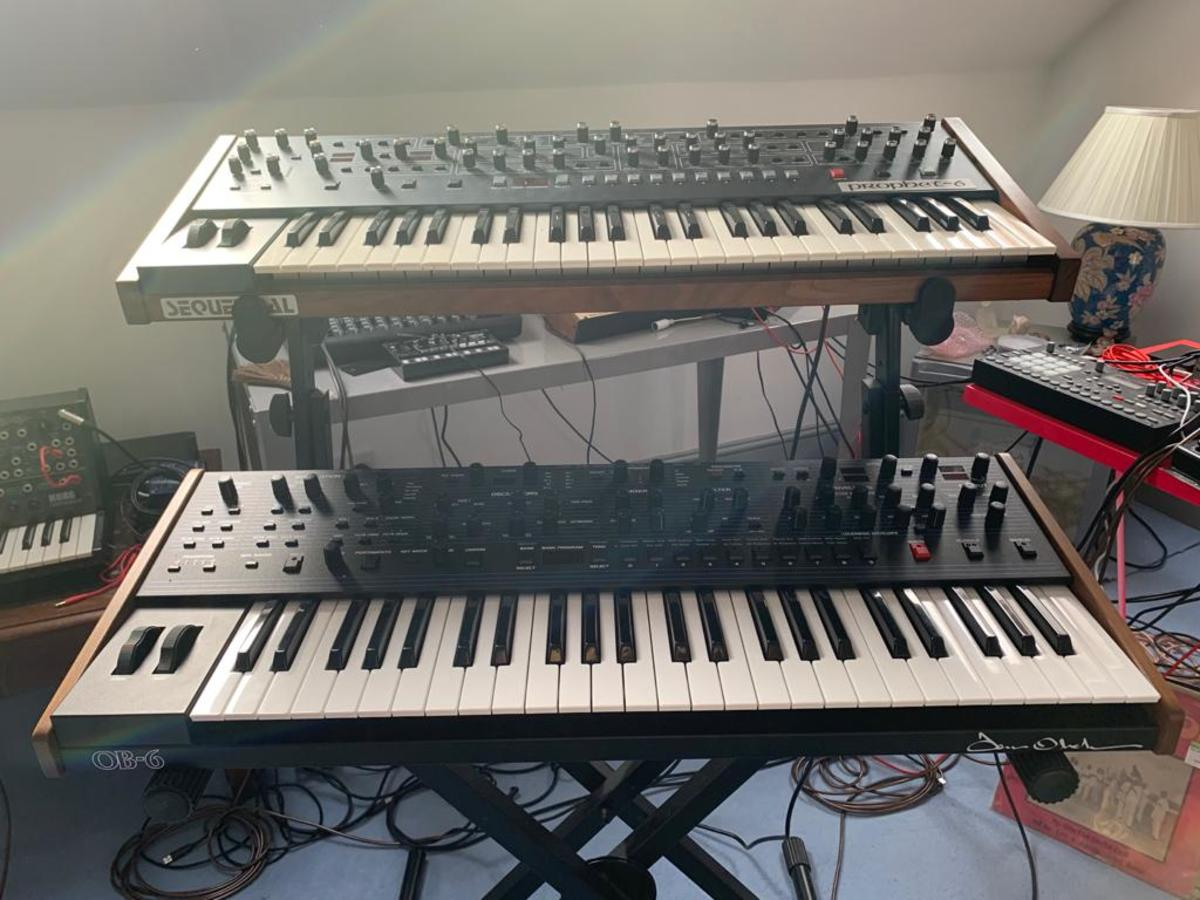 Dave Smith Prophet 6 and OB-6