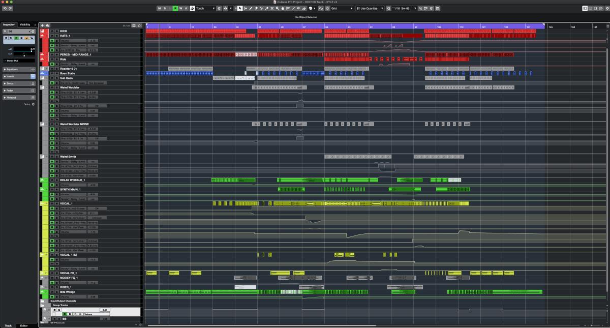 The final mix