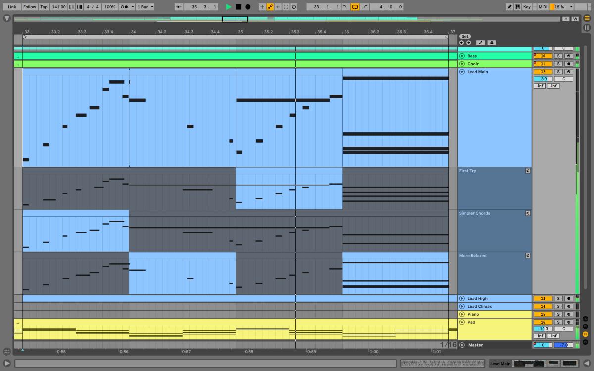 MIDI Comping