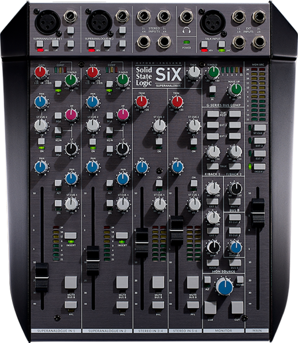 SSL SiX Desktop Mixer