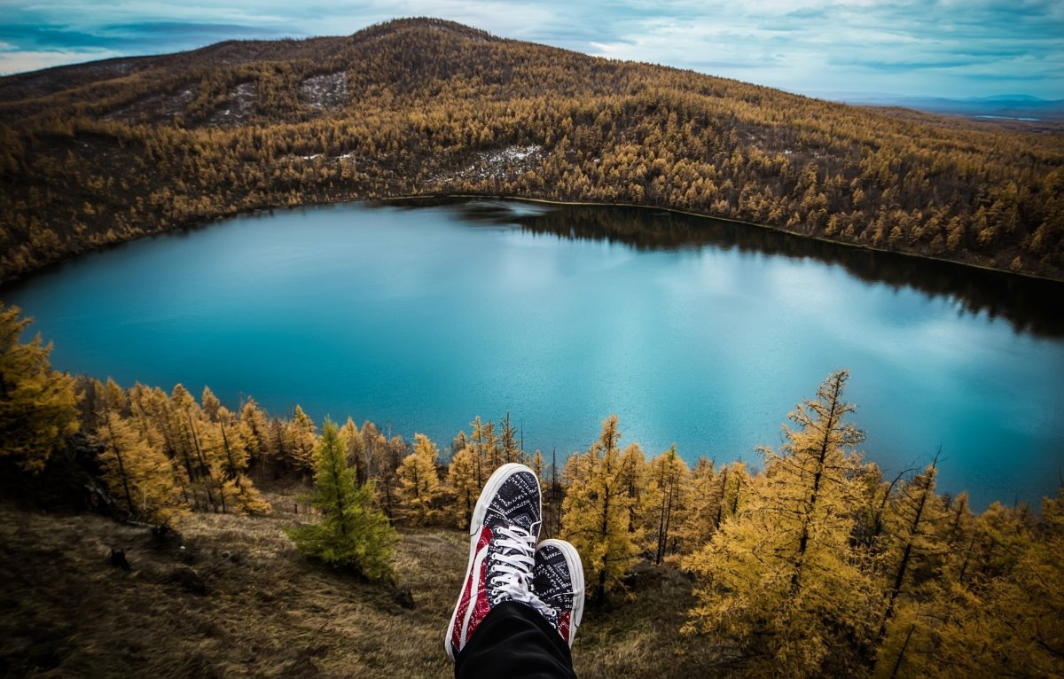 Travel, Lake, Forest