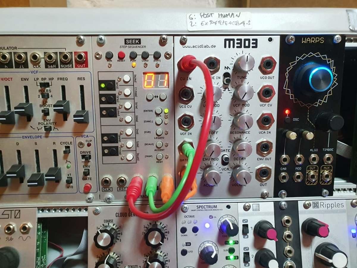 Seek sequencer & Acidlab M303