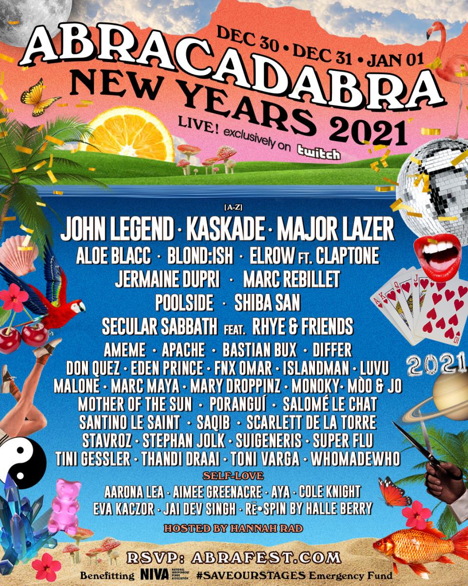 ABRACADABRA NYE 2020
