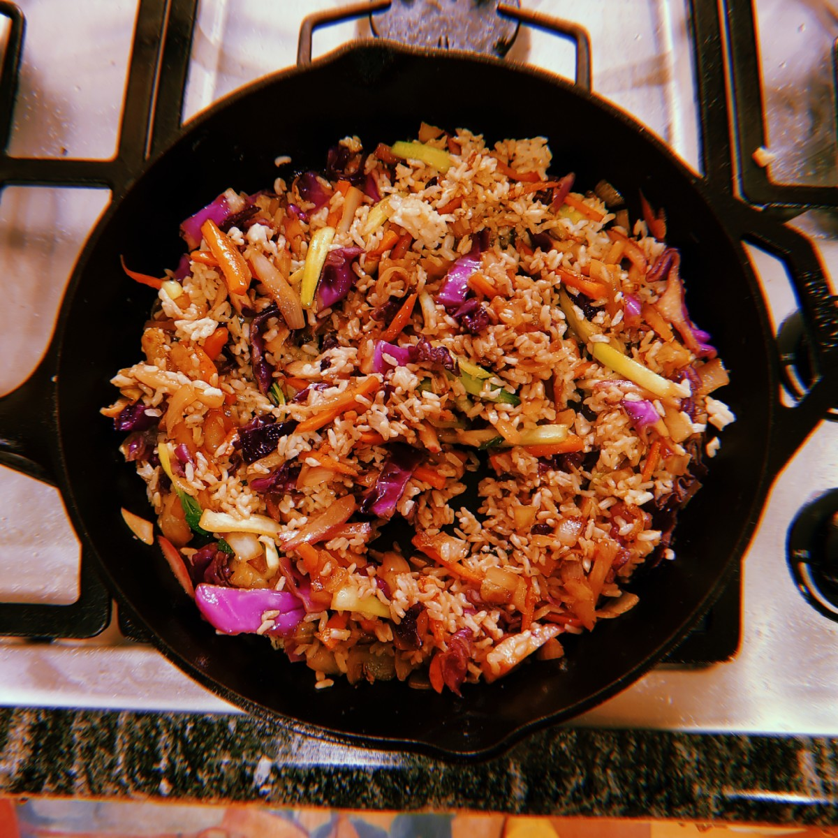 Life On Planets Chicken Vegetable Stir Fry