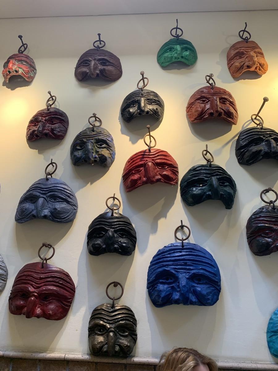 Mask of Pulcinella