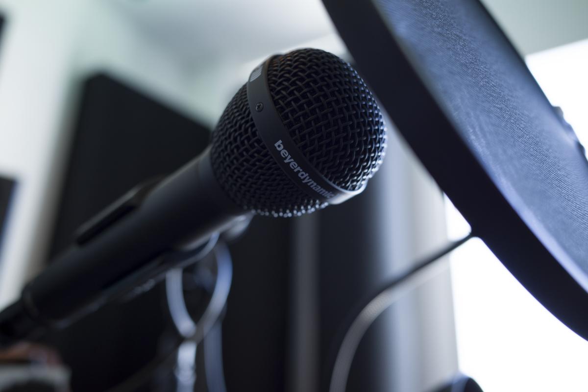 Tchami Microphone