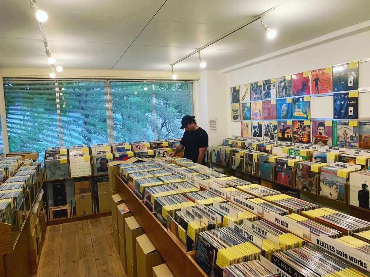 Holiday87 Ben Ruttner B-Roc Record Store Vinyl