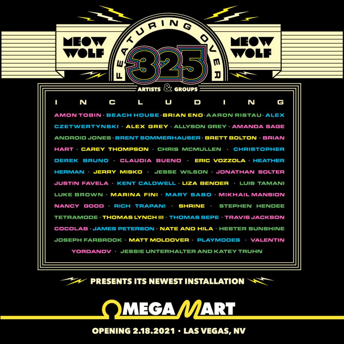 Omega Mart 2021 Lineup