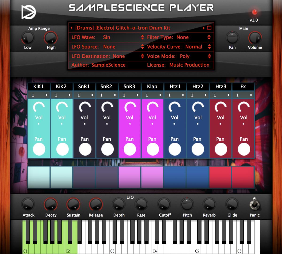 Møme SampleScience Player