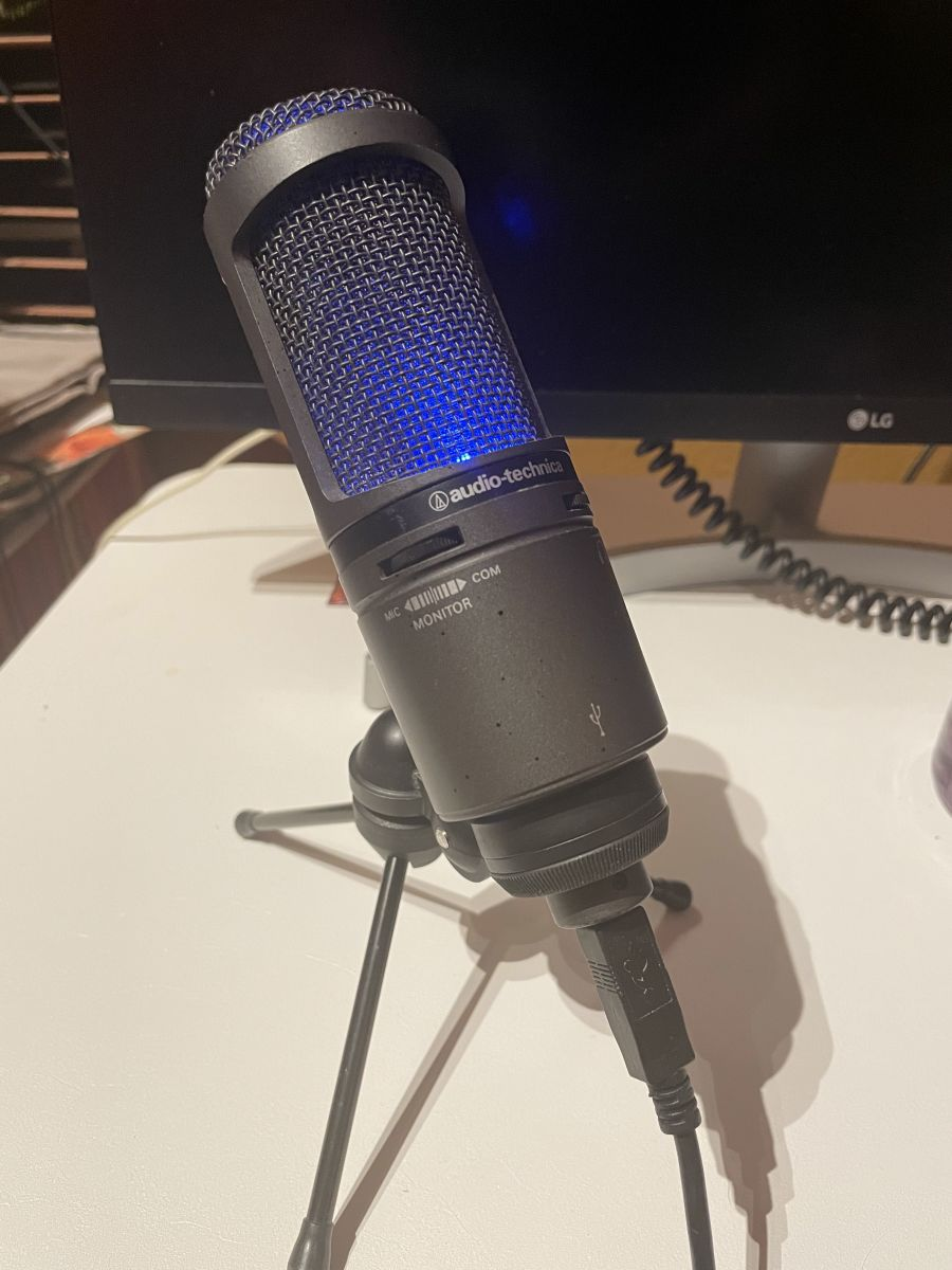 Audio-Technica Mic Ricky Ducati
