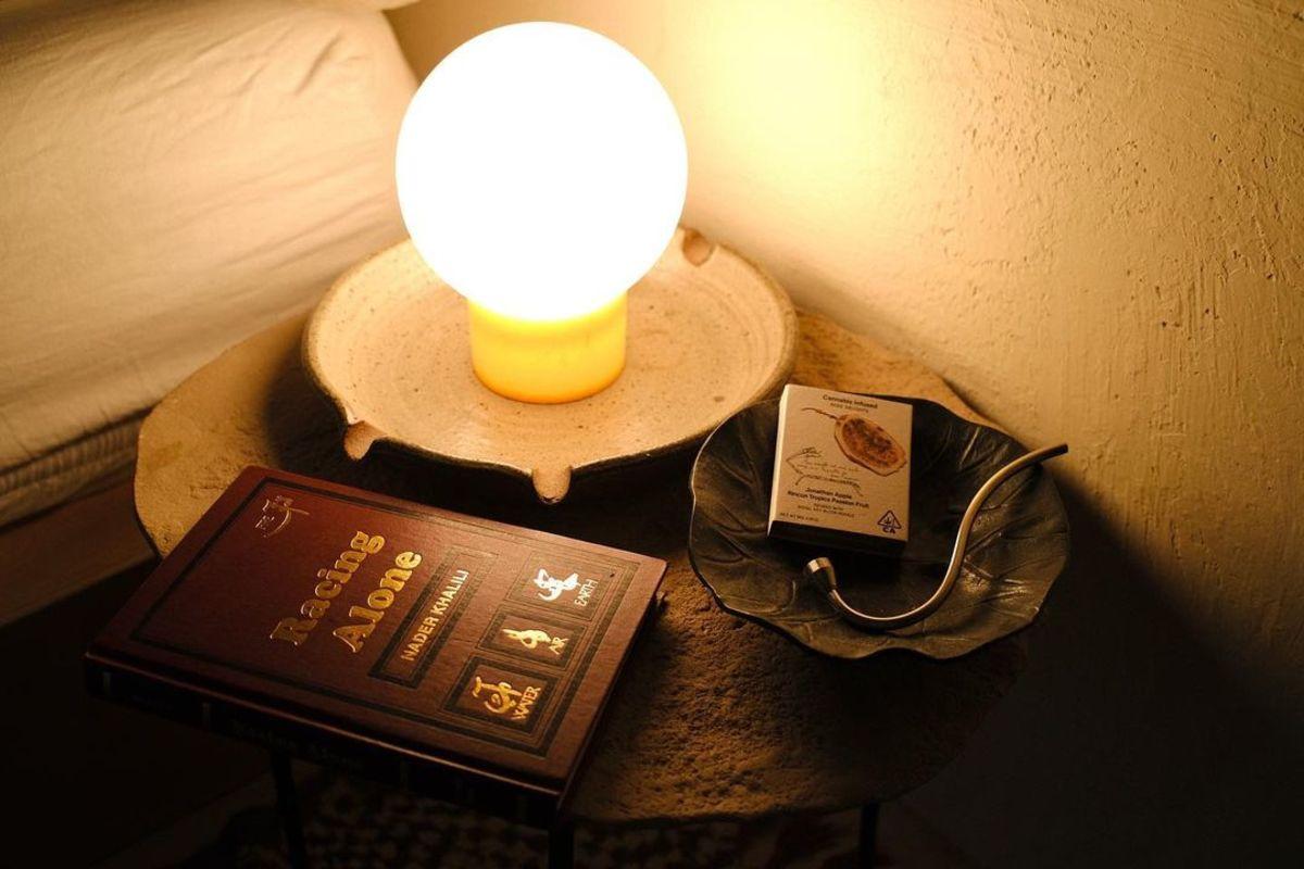Rose Los Angeles Lamp Book