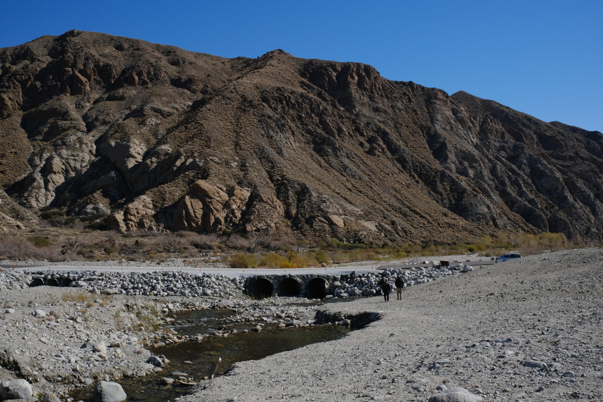 Trailhead at White Water Preserve