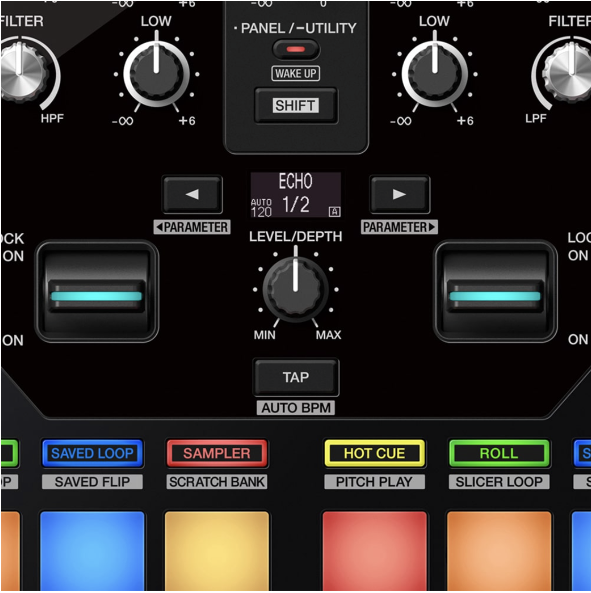 Pioneer DJ DJM-S7 Scratch bank