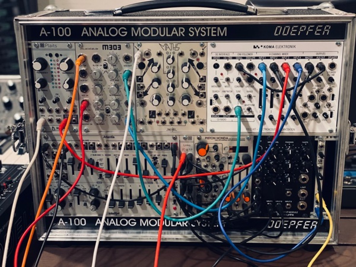 ACID LAB M303 + Mutable Instruments Plaits Analog Modular Synth
