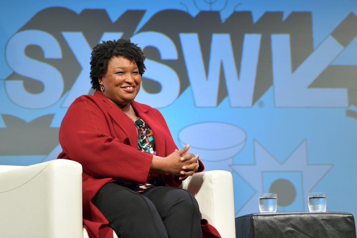 Stacey Abrams speaks onstage at Featured Session: Lead from the Outside: How to Make Real Change during the 2019 SXSW Conference and Festivals at Hilton Austin on March 11, 2019 in Austin, Texas.