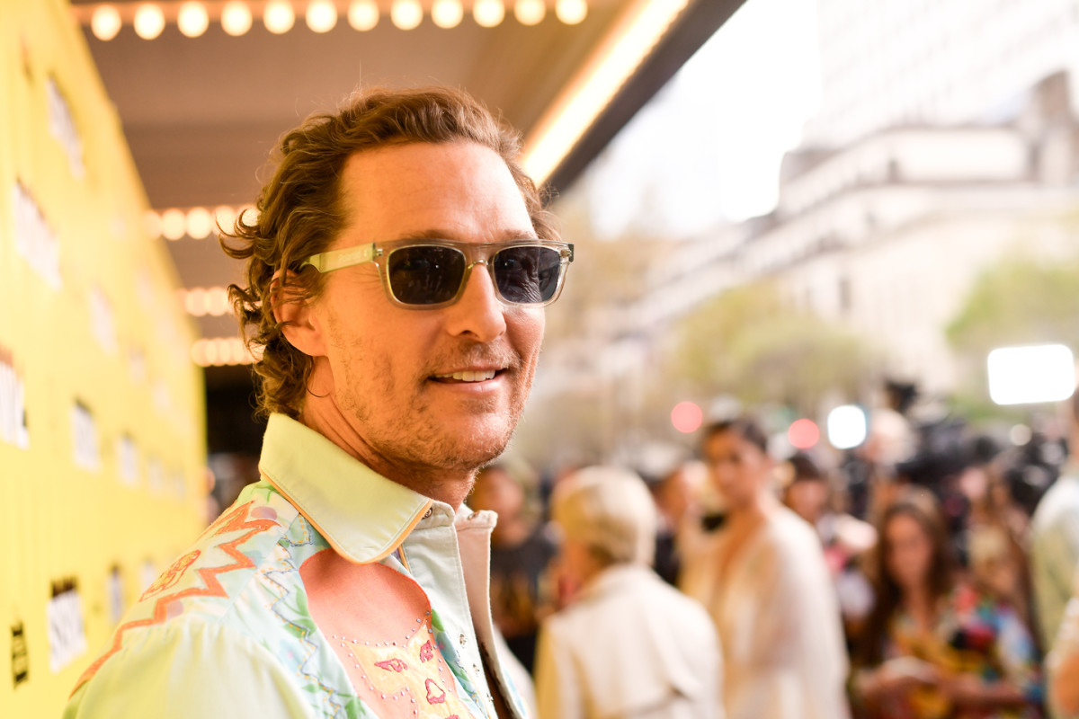 """Matthew McConaughey attends the """"The Beach Bum"""" Premiere 2019 SXSW Conference and Festivals at Paramount Theatre on March 09, 2019 in Austin, Texas."""