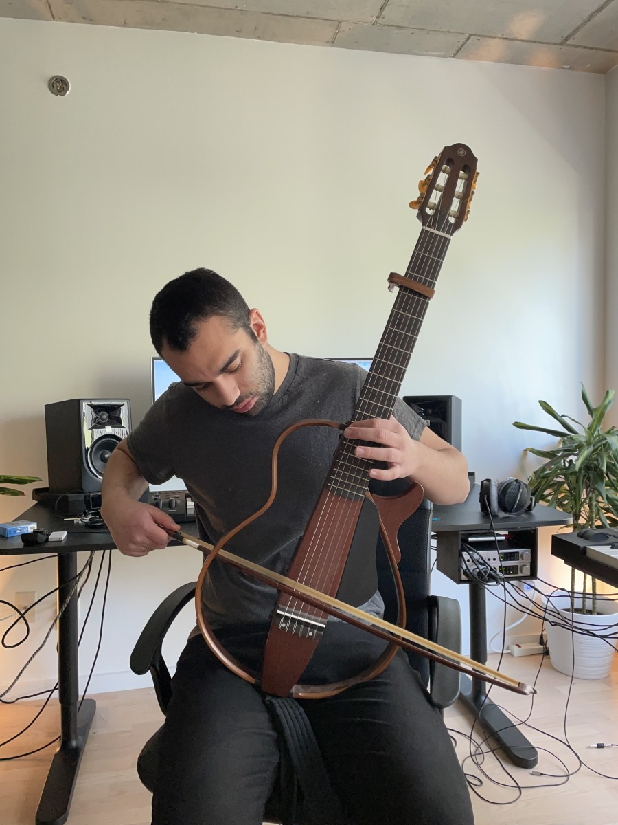 Guitar and Bow